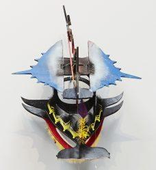 Ken Thaiday, Beizam Dance Mask, Torres Strait Islander art
