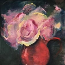 Carolyn Lockhart, Red Jug, Australian artist