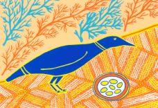 Doris Gingingara, Crow and Nest (Spring), Aboriginal art