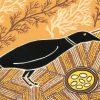 Doris Gingingara, Crow and Nest (Dry Season), Aboriginal art