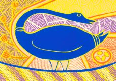 Doris Gingingara, Magpie Goose (Spring), Aboriginal art