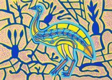 Doris Gingingara, Emu Spring, Aboriginal art