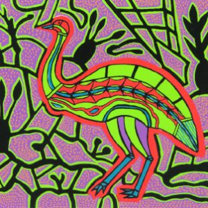 Doris Gingingara, Emu (Summer), Aboriginal art
