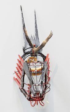 Ken Thaiday, Frigate Bird Dance Mask, Torres Strait Islander art