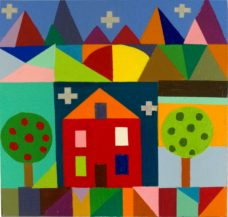 Mary Shackman, My House, Australian contemporary art