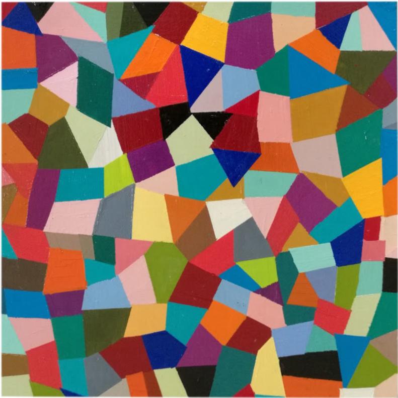 Mary Shackman, Harlequin, Australian contemporary art