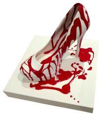 Mary Shackman, Killer Shoes I, Australian contemporary art