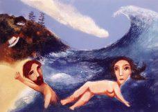 Garry Shead, The Wave, Australian contemporary art