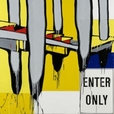 Jasper Knight, Enter Only, Australian contemporary art