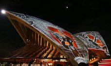 Alick Tipoti, Opera House Sails, Torres Strait Islander art