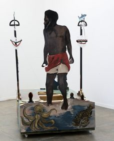 Ken Thaiday, Koiki Mabo Celebration (open), Torres Strait Islander art