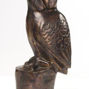 Garry Namponan, Owl, Aboriginal art