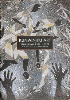Kunwinjku Art from Injalak 1991-1992, John W Kluge, Aboriginal art books