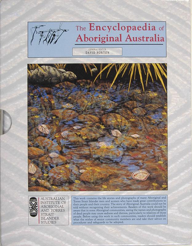 The Encyclopaedia of Aboriginal Australia: 2 Volume Boxed Set, David Horton, Aboriginal art books