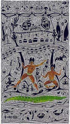 Mura Uriyau Danaka, Alick Tipoti, Torres Strait Islander art