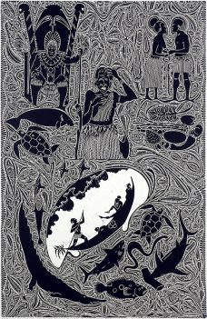 Ali, Alick Tipoti, Torres Strait Islander art