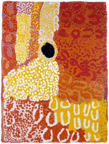 Lucy Yukenbarri Napanangka, Punyarnita I, Aboriginal art