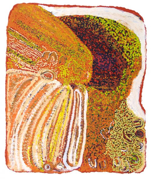 Eubena Nampitjin, Nakarra Nakarra I, Aboriginal art