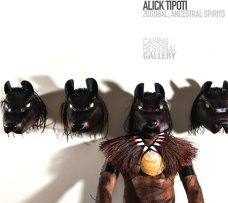 Alick Tipoti: Zugubal, Ancestral Spirits, Cairns Art Gallery exhibition catalogue, Torres Strait Islander art books