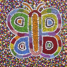 Nguru Yurntumu-wana - Country around Yuendumu, Cherina Nampijinpa Singleton, Aboriginal art