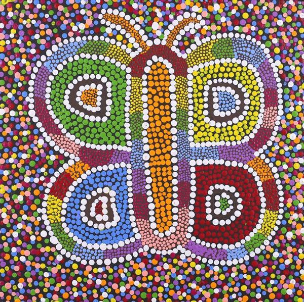 Nguru Yurntumu-wana - Country around Yuendumu, Cherina Nampijinpa Singleton, Aboriginal art