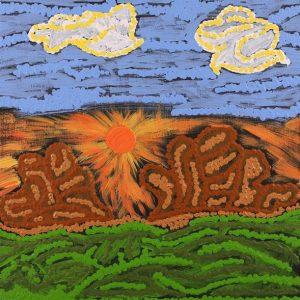 Nguru Yurntumu-wana - Country around Yuendumu, Sarah-Jane Nampijinpa Singleton, Aboriginal art