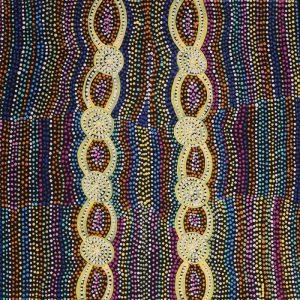 Mina Mina Jukurrpa - Mina Mina Dreaming - Ngalyipi, Helen Nungarrayi Reed, Aboriginal art
