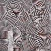 Leah Nampijinpa Sampson, Ngapa Jukurrpa - Water Dreaming - Pirlinyarnu, Aboriginal art