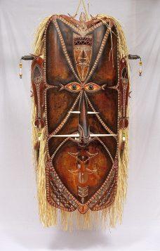 Zugubaw Koey Mawal I, Alick Tipoti, Torres Strait Islander artist