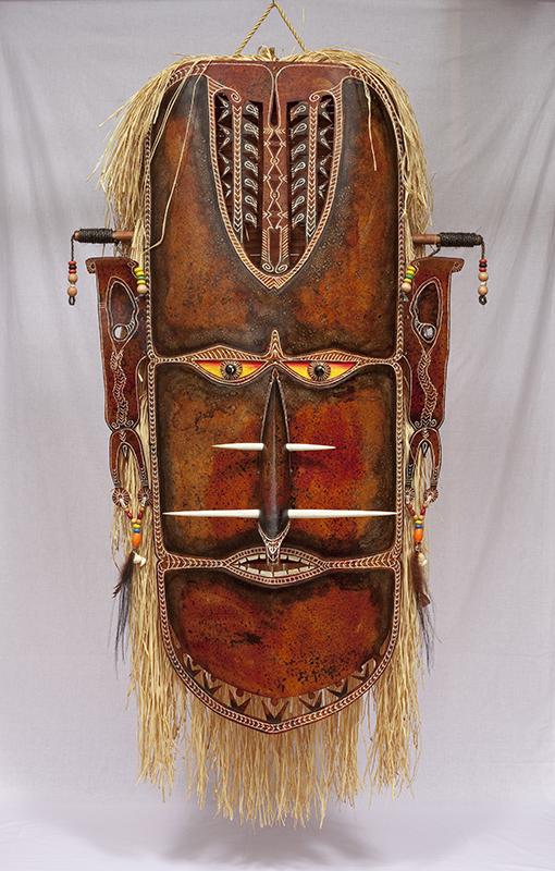 Zugubaw Koey Mawal III, Alick Tipoti, Torres Strait Islander artist
