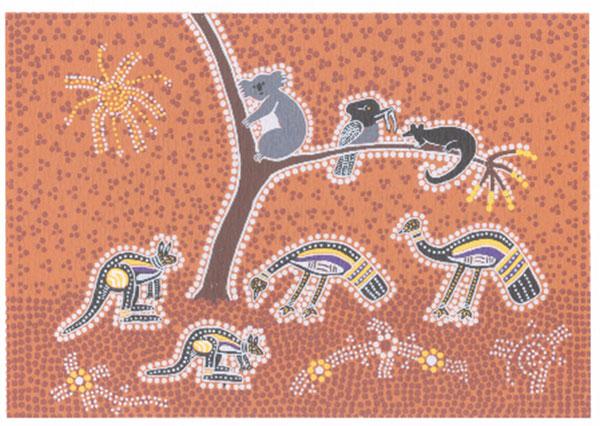Jeanette Timbery, Australian icons, Australian Aboriginal art