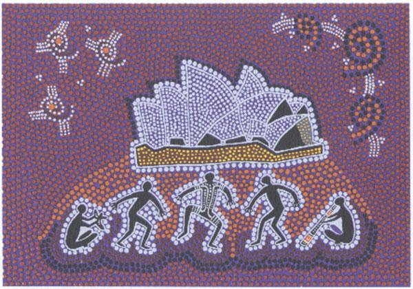 Jeanette Timbery, Opera on Bennelong, Australian Aboriginal art