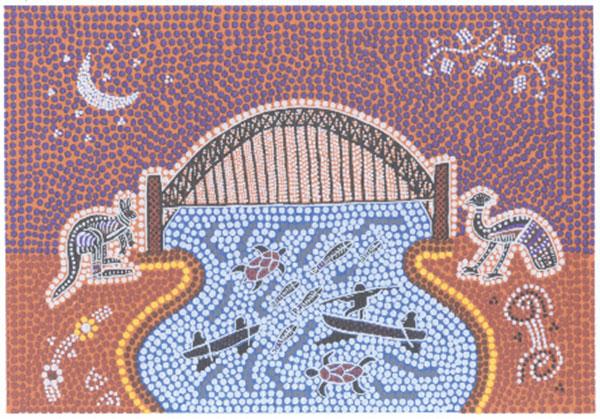 Jeanette Timbery, Sydney Harbour, Urban Aboriginal artist
